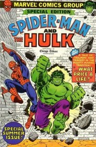 Amazing Spider-Man and the Incredible Hulk (Supplement to the Chicago Tribune...