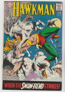 Hawkman #27 (Sep-68) FN/VF+ High-Grade Hawkman