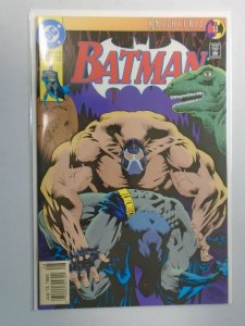 Batman #497 Newsstand edition 8.0 VF (1993 1st Printing)