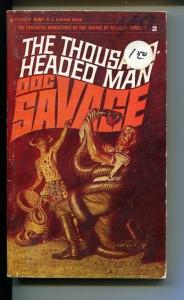 DOC SAVAGE-THE THOUSAND HEADED MAN-#2-ROBESON-JAMES BAMA COVER-VG VG