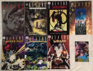 ALIENS - GRAPHIC NOVELS - LOT OF 4- SALVATION, SACRIFICE, TRIBES