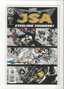 JSA #34 DC Comics  NM