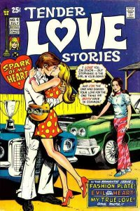 Tender Love Stories #4 VG; Skywald | low grade comic - save on shipping - detail