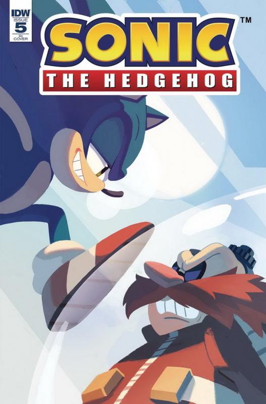 Sonic The Hedgehog 2018 Idw 5 Variant 1 10 Presale 05 30 Hipcomic
