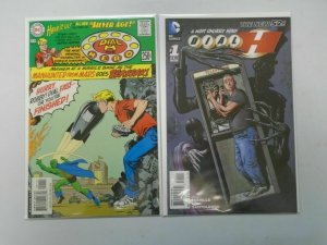Dial H lot 2 different issues 8.0 VF (2000-2012)