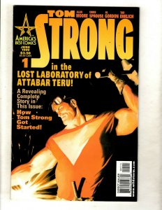 Lot of 11 Tom Strong America's Best Comics #1 2 3 4 5 6 7 8 9 10 11 J342