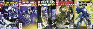 SENTINEL SQUAD ONE (2006) 1-5  complete mini-series!