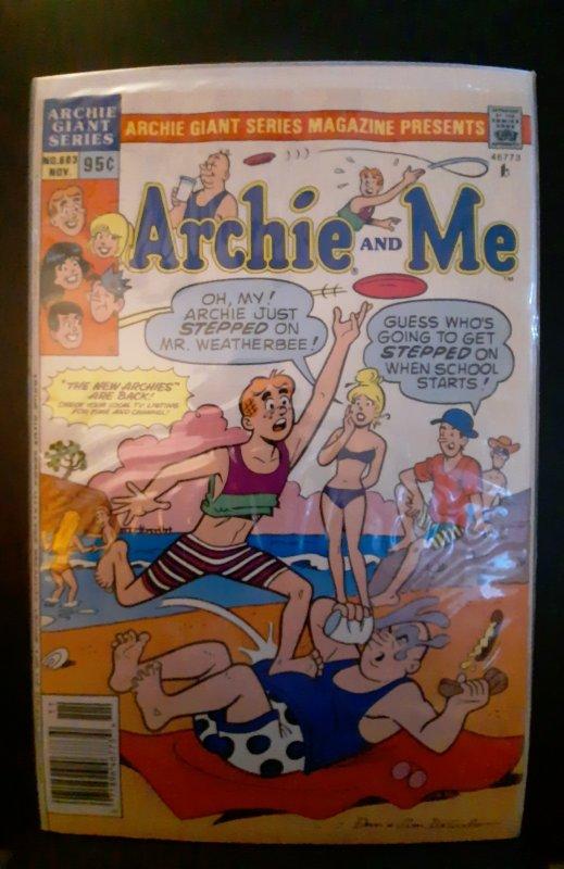 Archie Giant Series Magazine #603 (1989)