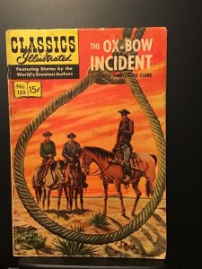 Classics Illustrated #125 (1955) VG 4.0 HRN 143