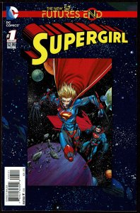 Futures End Supergirl Standard Cover (2014, DC) 9.2 NM-