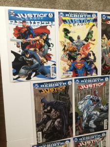 Justice League Rebirth Variant Set 1 1 2 3 4 5 6 7 8 9 10 11 12 Nm Near Mint IK