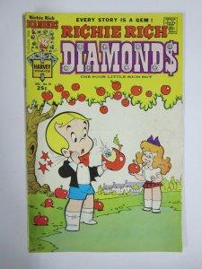 RICHIE RICH DIAMONDS #21 (Harvey, 12/1975) VERY GOOD PLUS (VG+)