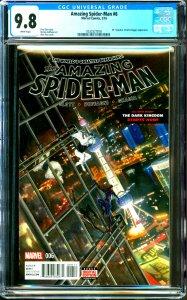 Amazing Spider-Man #6 CGC Graded 9.8 Mr. Negative, Cloak & Dagger Appearance