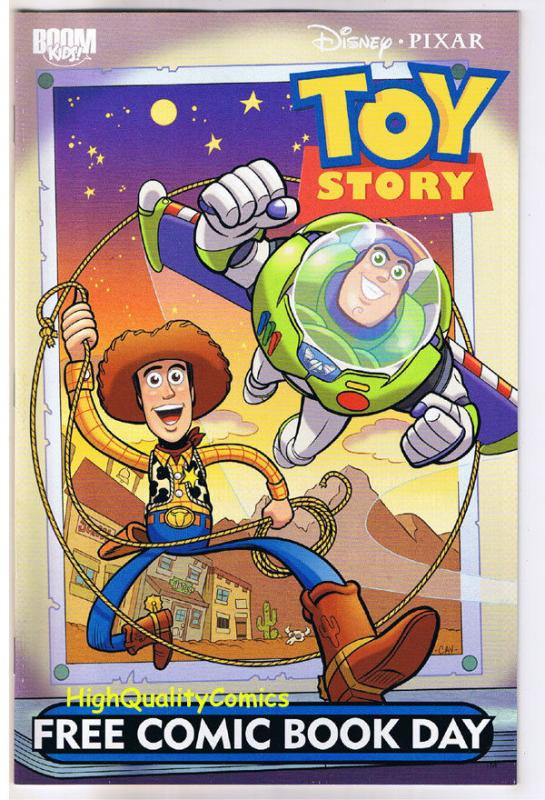 TOY STORY, FCBD, Promo, Woody,  Buzz Lightyear, 2010, NM, more Disney in store