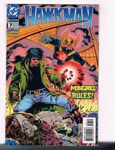 Hawkman (1993 3rd Series) #7 DC Comic BookNew Blood Mongrel Netherworld HH3