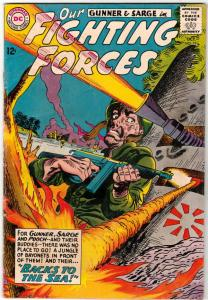 Our Fighting Forces #79 (Oct-63) FN/VF+ High-Grade Gunner