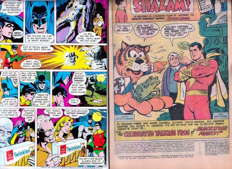 SHAZAM #18 The Celebratory Talking Frog
