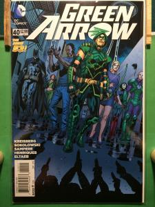 Green Arrow #40 The New 52