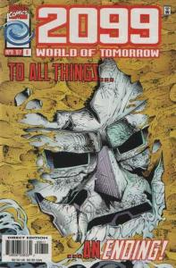 2099: World of Tomorrow #8 VF/NM; Marvel | save on shipping - details inside