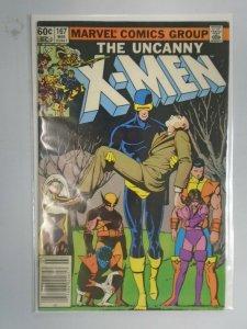 Uncanny X-Men #167 Newsstand edition 4.0 VG (1983 1st Series)