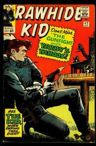 Rawhide Kid #42 1964- Marvel Western- Glossy cover- FN