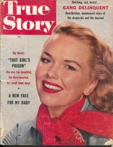True Story 1/1955-Macfadden-exploitation-gang delinquent-bad luck girl-G