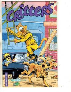 Critters # 25 VF/NM Fantagraphics Books Comic Book Adventures J289