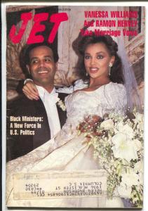 Jet 2/2/1987-Vanessa Williams wedding-African-American culture-FN-