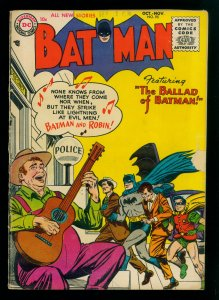 Batman #95 GD/VG 3.0