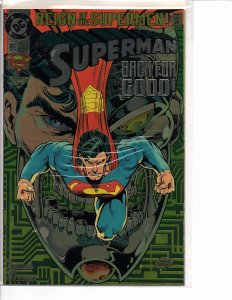 DC Comics Superman #82 Collector's Edition Chromium-Enhanced Cover