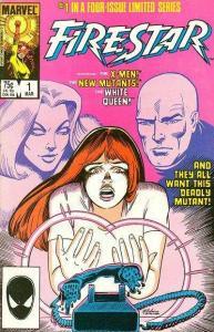 Firestar (1986 series) #1, NM- (Stock photo)