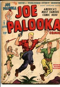 JOE PALOOKA COMICS #9-JUNGLE WOMAN COVER-HAM FISHER VG