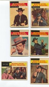 Have Gun, Will Travel Western TV Series Trading Card Set 1958-Richard Boone