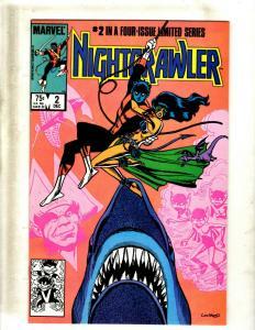 9 Comics Nightcrawler #2 3 4, Nomad #1 2 3, Nth Man #1 2, Obnoxio #1 JF25