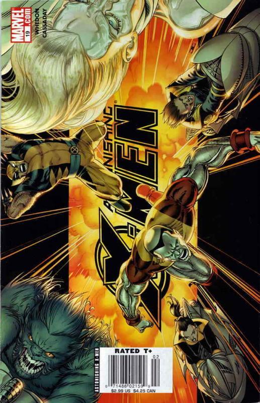 Astonishing X-Men (3rd Series) #19 VF; Marvel   save on shipping - details insid