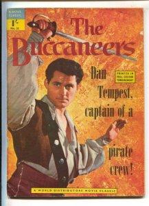 World Distributors Movie Classic #33 1957-Dell-Buccaneers TV series-Robert Sh...