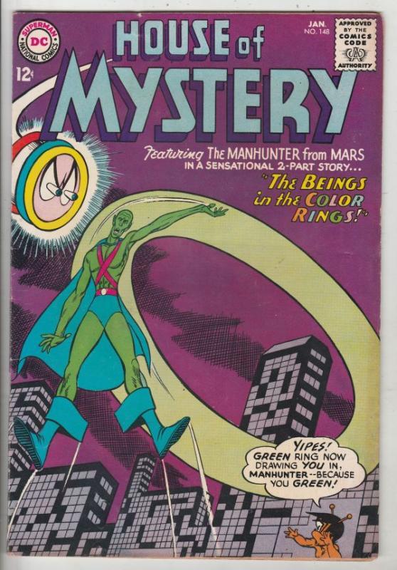 House of Mystery #148 (Jan-65) VF/NM High-Grade Martian Manhunter