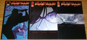Bastard Samurai #1-3 VF/NM complete series MICHAEL AVON OEMING image comics 2002