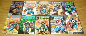 Captain America vol. 3 #1-50 VF/NM complete series + (4) annuals - heroes return
