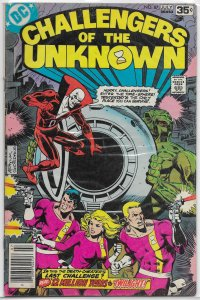 Challengers of the Unknown   vol. 1   #87 VG