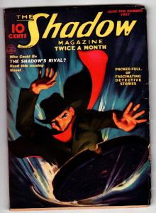 SHADOW 1937 June 15 -HIGH GRADE- STREET AND SMITH-RARE PULP FN