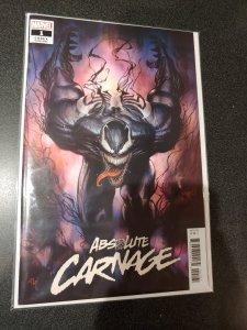 ABSOLUTE CARNAGE #1 GRANOV CODEX VARIANT VENOM SPIDER-MAN