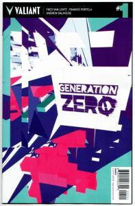 Generation Zero #1 Cvr B (Valiant, 2016) VF/NM