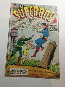 Superboy 100 Vg Very Good 4.0 DC Comics