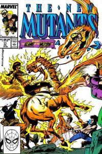 New Mutants (1983 series) #77, VF- (Stock photo)