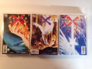 Earth X Universe X Paradise X Complete Near Mint Lot Set Run Heralds + More