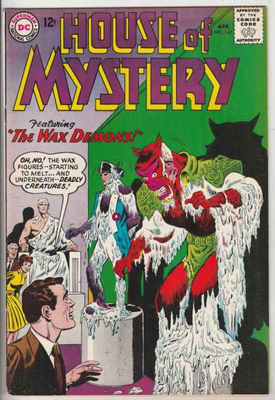 House of Mystery #142 (Apr-64) NM- High-Grade