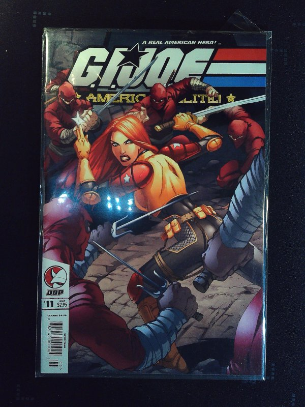 G.I. Joe: America's Elite #11 (2006)