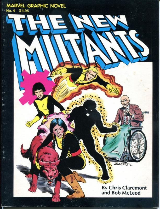 NEW MUTANTS - Marvel Graphic Novel #4, VF, Claremont, 1982, 1st,more in store