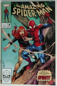 Amazing Spider-Man #7 (1st Gambit Xmen 266 homage cover) limited 3000 print run!